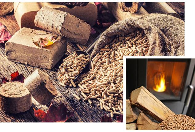Les combustibles en bois